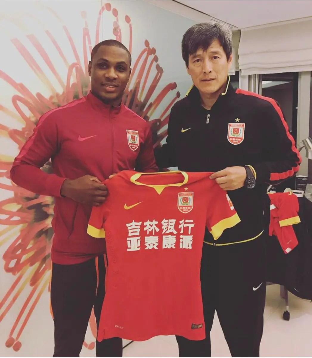 Chinese Club Changchun Yatai Unveil Ighalo