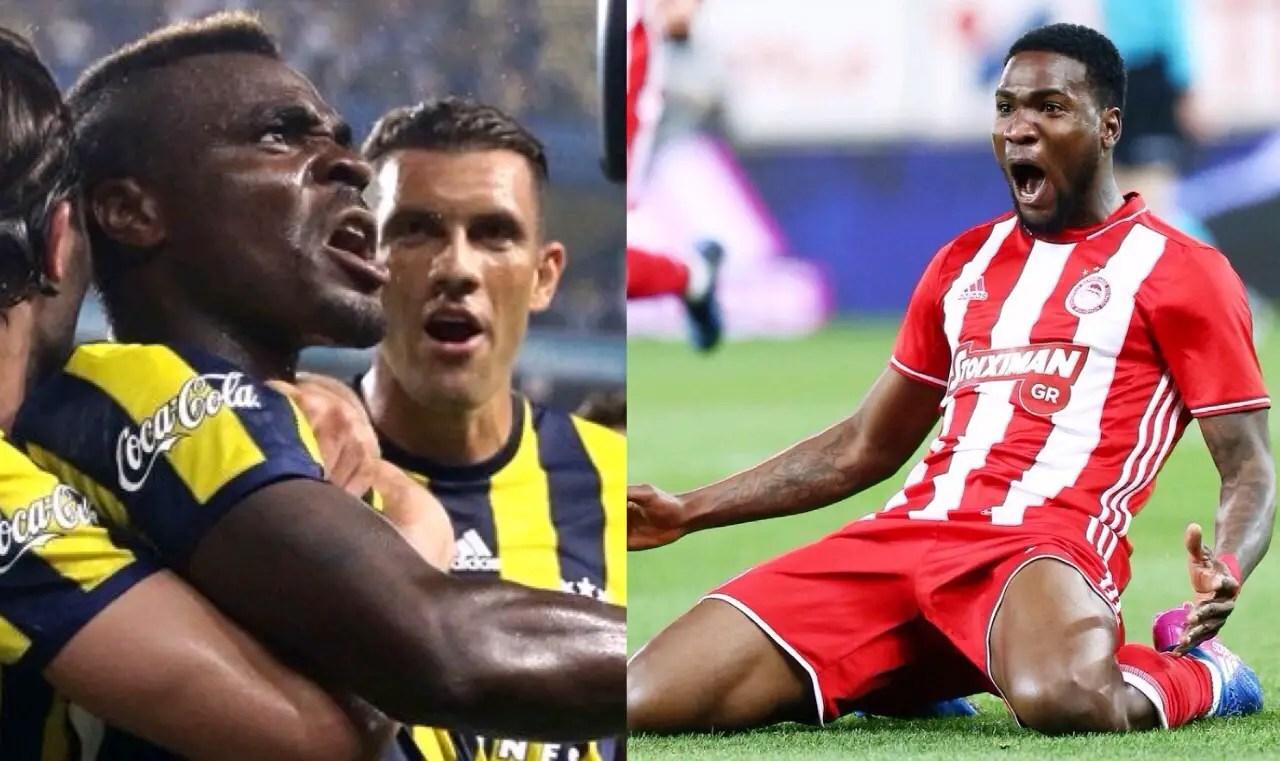 Europa League: Emenike In For Fenerbahce, Ideye For Olympiacos