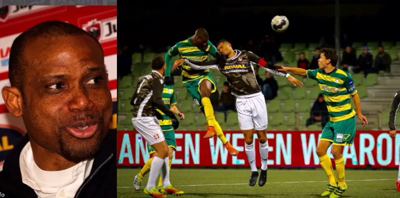 Oliseh Thankful For Fortuna Sittard's Away Draw At FC Dordrecht