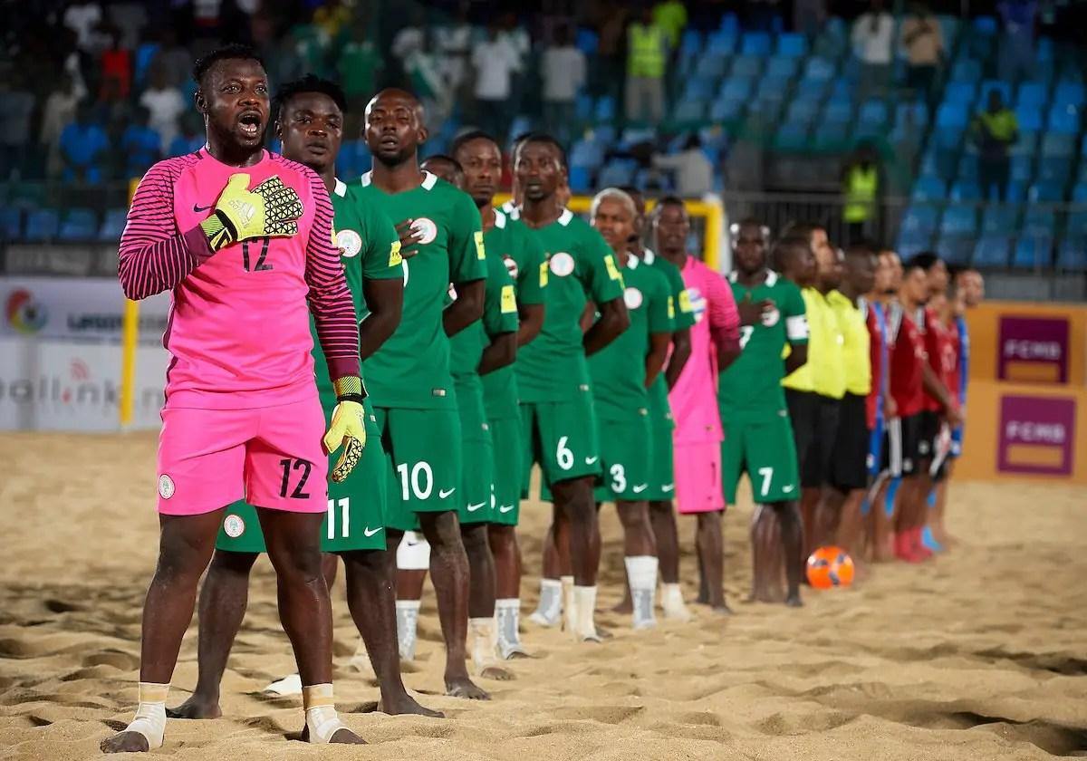 Beach Soccer World Cup: Nigeria Draw Mexico, Italy