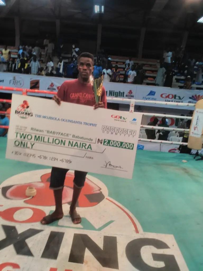 Babatunde Claims GOtv 2 million naira Jackpot As Fijabi, Joe Boy Win