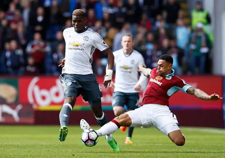 Mourinho Praises Martial, Pogba After Win Over Burnley