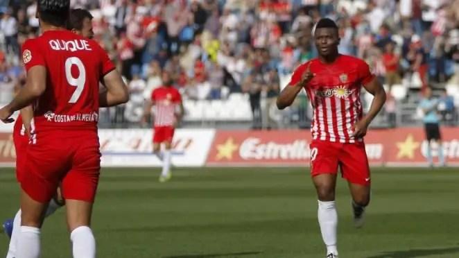 Kalu Uche Scores In Almeria Win; Kayode, Ebuehi On Winning Sides; Etebo Stars As Feirense Hold Porto