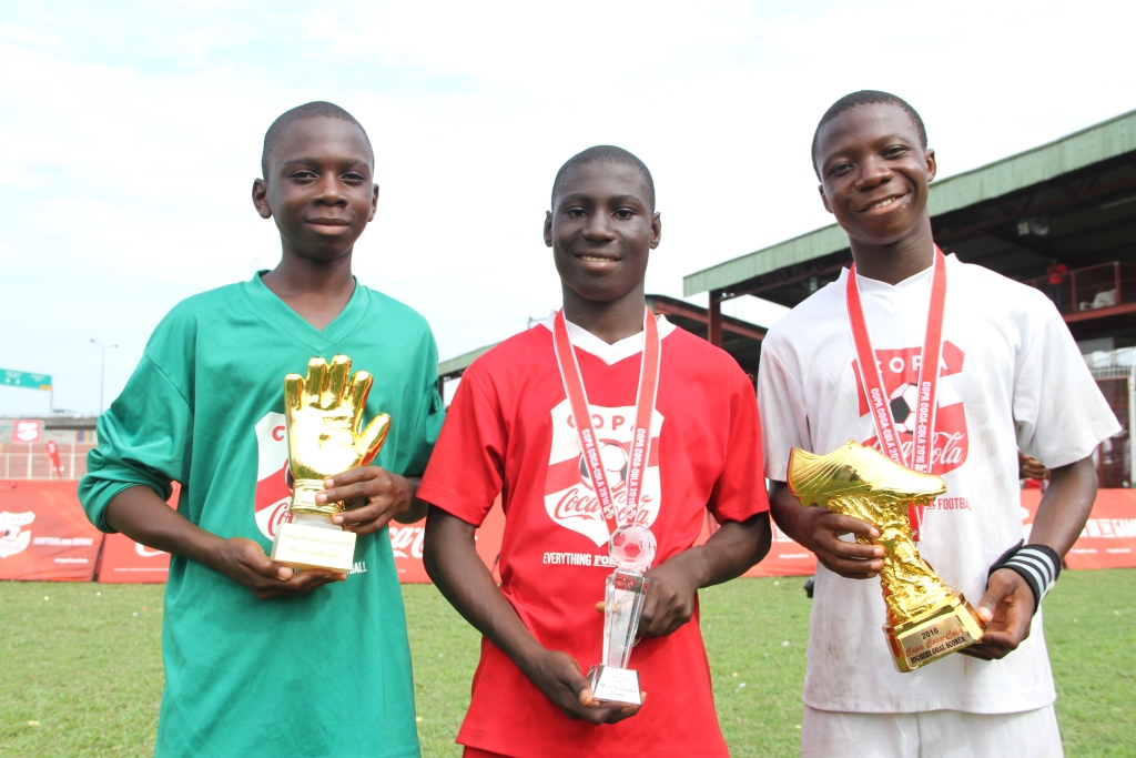 Golden Gloves Winner Predicts Team Will 'Get Stronger' At COPA Coca-Cola Football Tournament