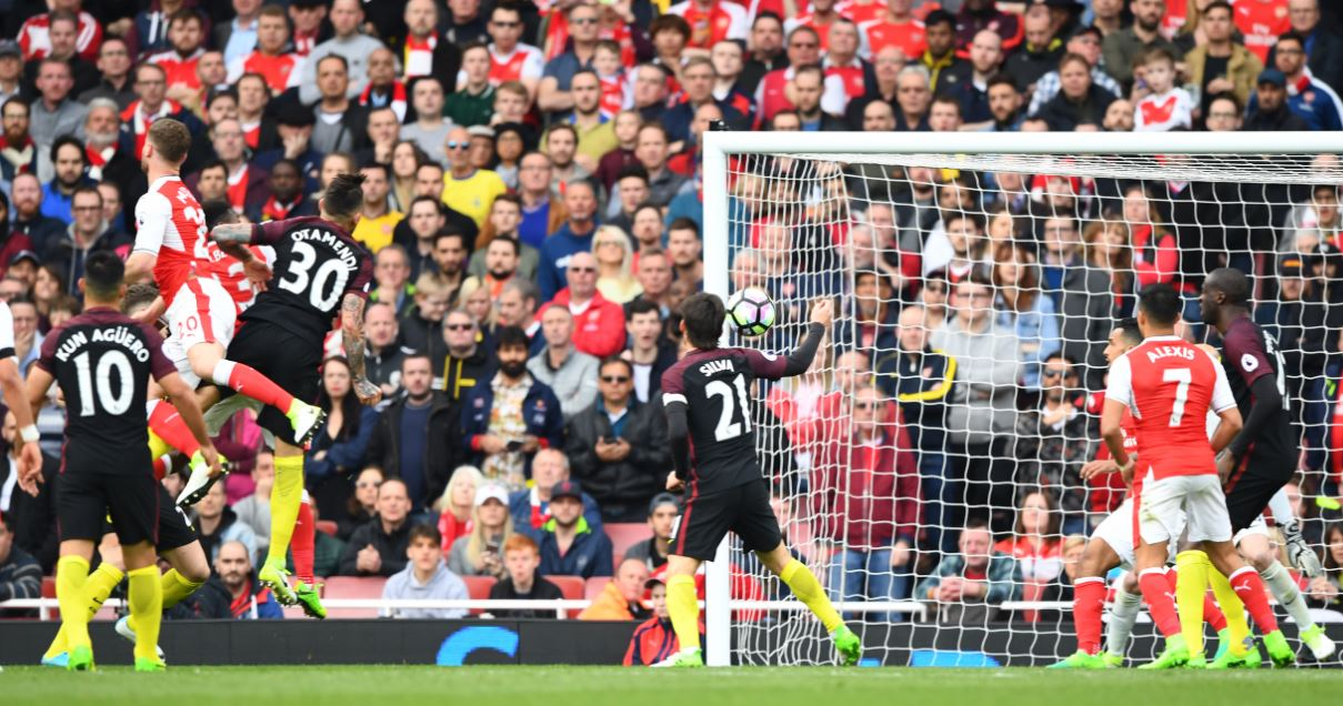 Iwobi In Action, Iheanacho Missing As Arsenal, Man City Draw