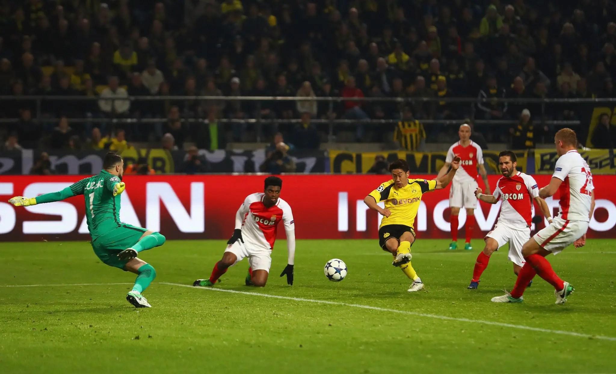 Monaco Take First Leg Edge Over Dortmund In UCL Q/Finals