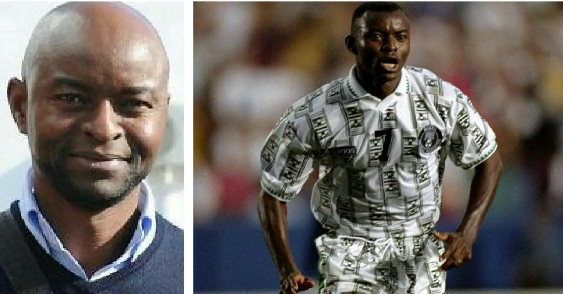 FIFA Celebrate Finidi George At 46