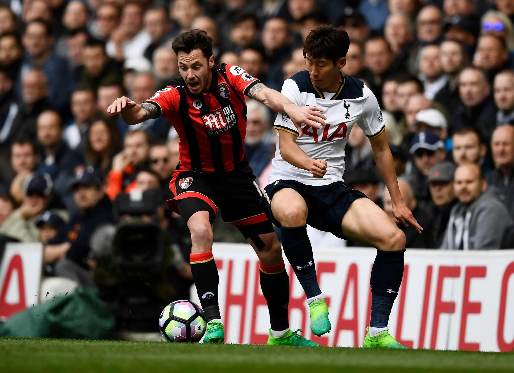 Tottenham Thrash Bournemouth, Cut Into Chelsea's Lead