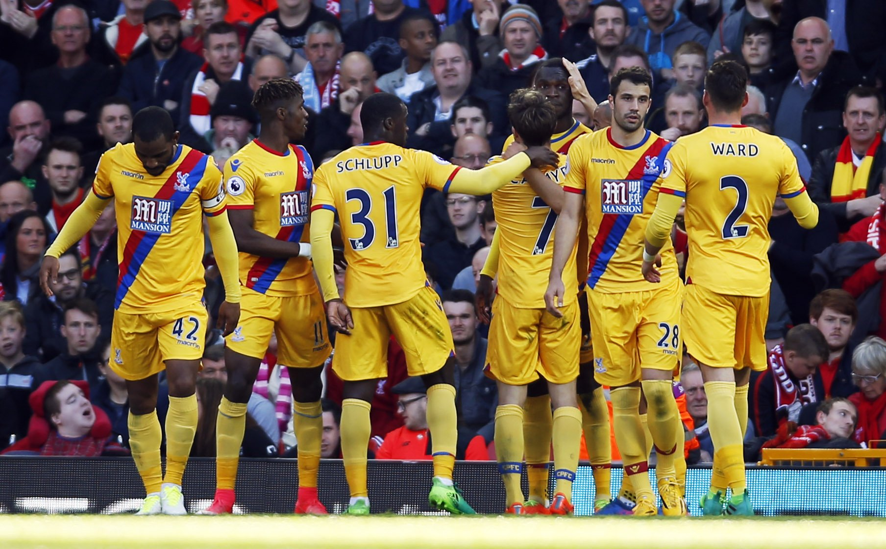 Benteke Haunts Liverpool As Palace Stun Reds At Anfield