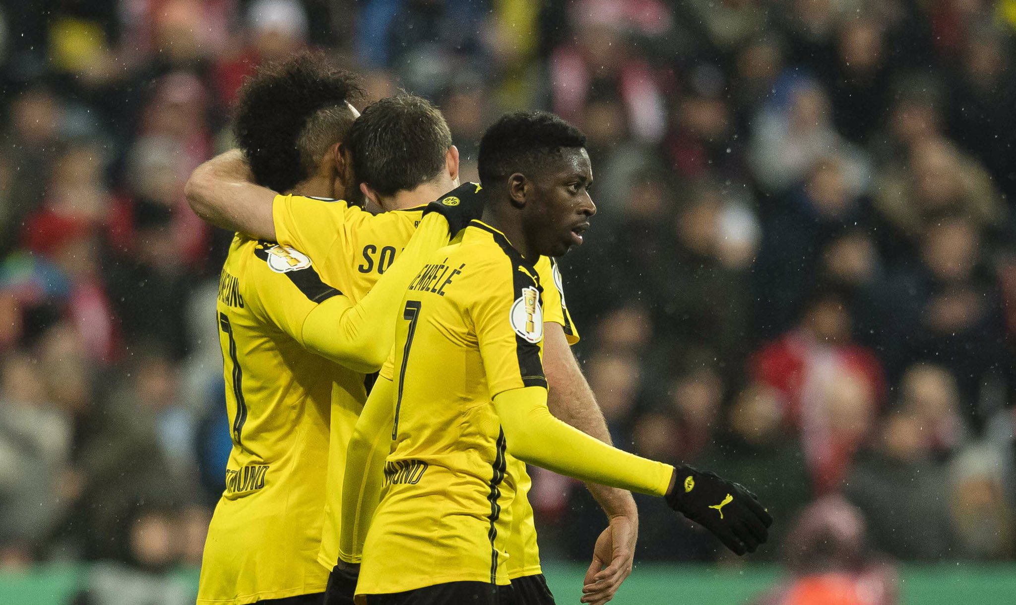 Borussia Dortmund Knock Bayern Out Of German Cup