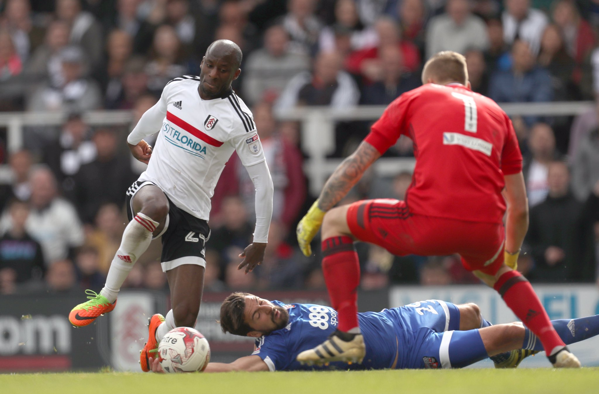 Aluko Shines As Fulham Claim EPL Play-Offs Ticket