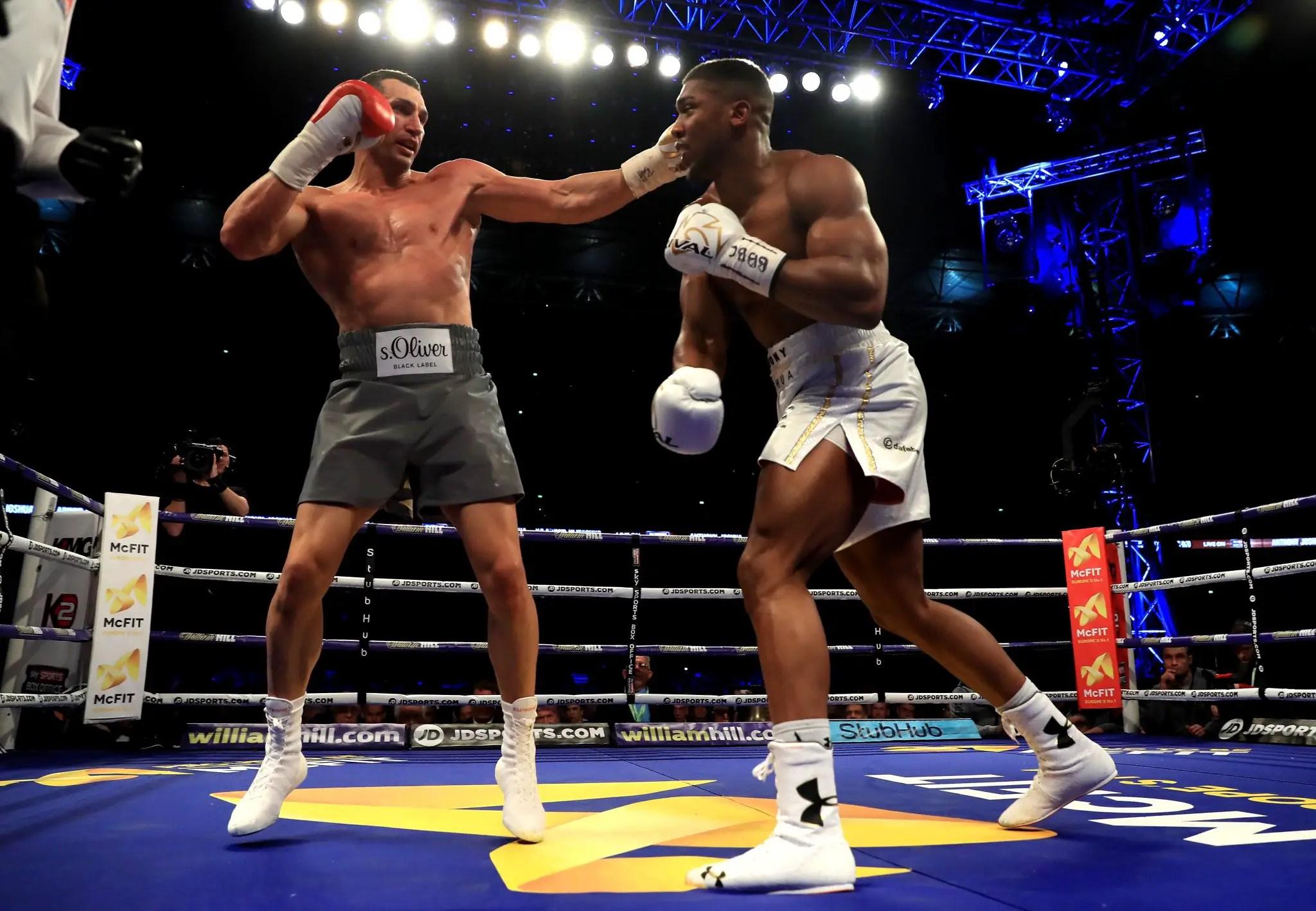 Ikeme, Tuface Salute Joshua On Stunning Victory Over Klitschko