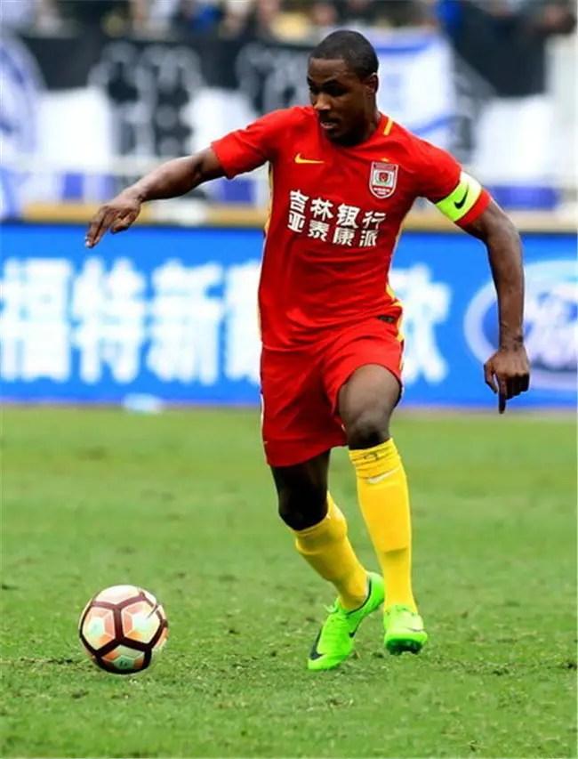 CSL: Ighalo Nets Fourth Goal of Season AsChangchun Yatai Beat SIPG