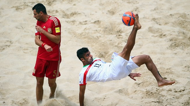 2017 Beach Soccer W/Cup: Iran Captain Looks Beyond Nigeria, Other Group B Opponents
