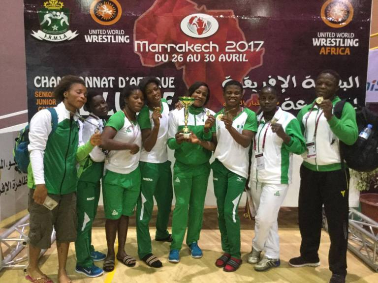 Nigeria Women Win Eight Medals At African Wrestling Championship