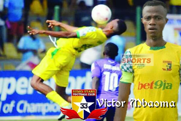 Remo Stars Hotshot Mbaoma Eager To Score And Dedicate Plenty Goals To Late Father