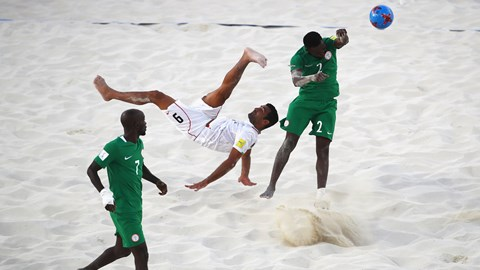 Bahamas 2017: Sand Eagles Lose To Iran On Penalties, Crash Out
