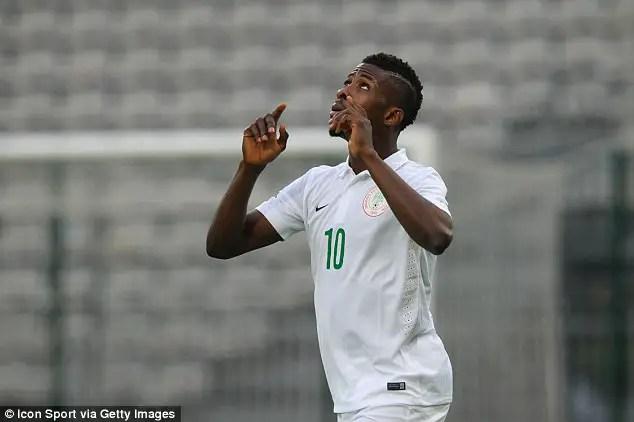 Iheanacho Rescues Super Eagles From Corsica Defeat; Odey, Onyekuru Debut
