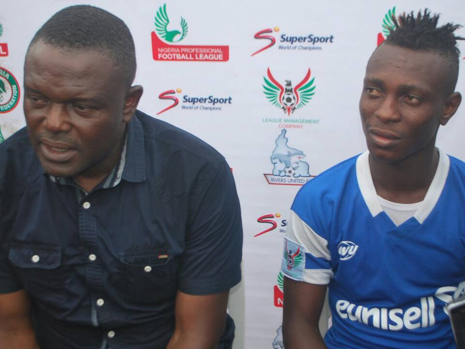 Eguma Confident As Rivers United Jet Out Friday For Club Africain Clash