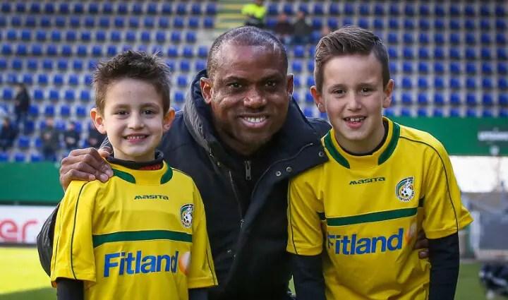 Oliseh Hails Fortuna Sittard Fans On Award