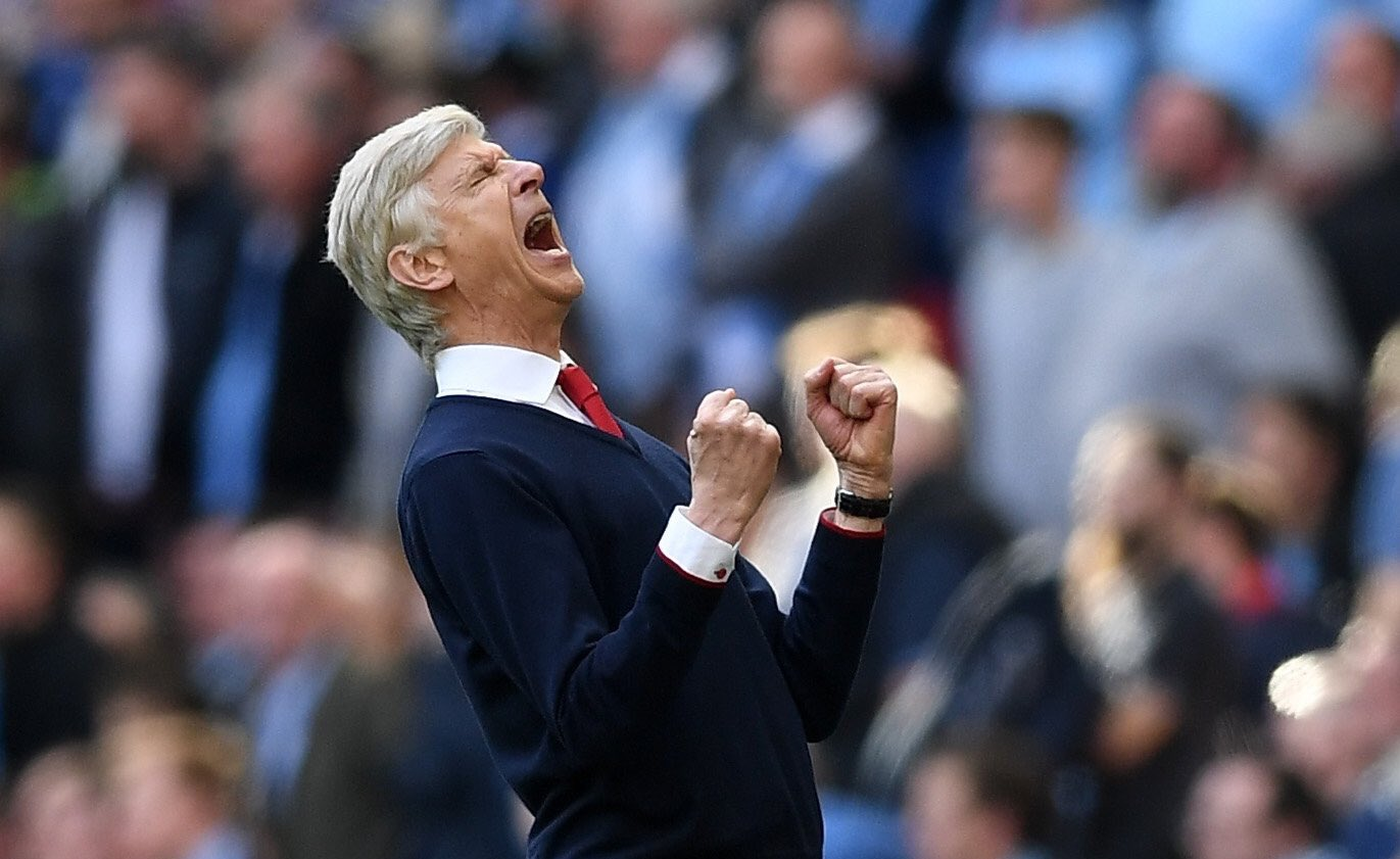 Wenger Hopeful Of Top Four Arsenal Finish After Win Over United