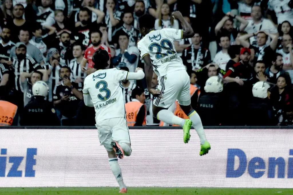 GOAL RUSH: 7 Nigerians Score In Europe; Emenike's Fenerbahce Hold Besiktas