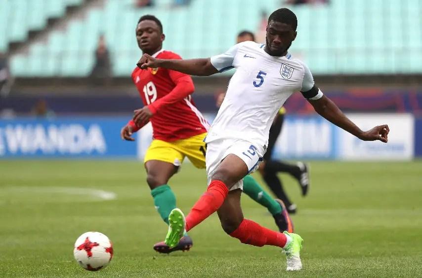 U-20 World Cup: Nigerian Tomori Scores Own Goal As Guinea Hold England