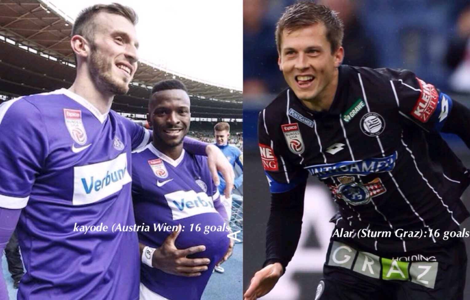 Kayode: I'm In No Competition With Anyone For Austrian League Top Scorer Award