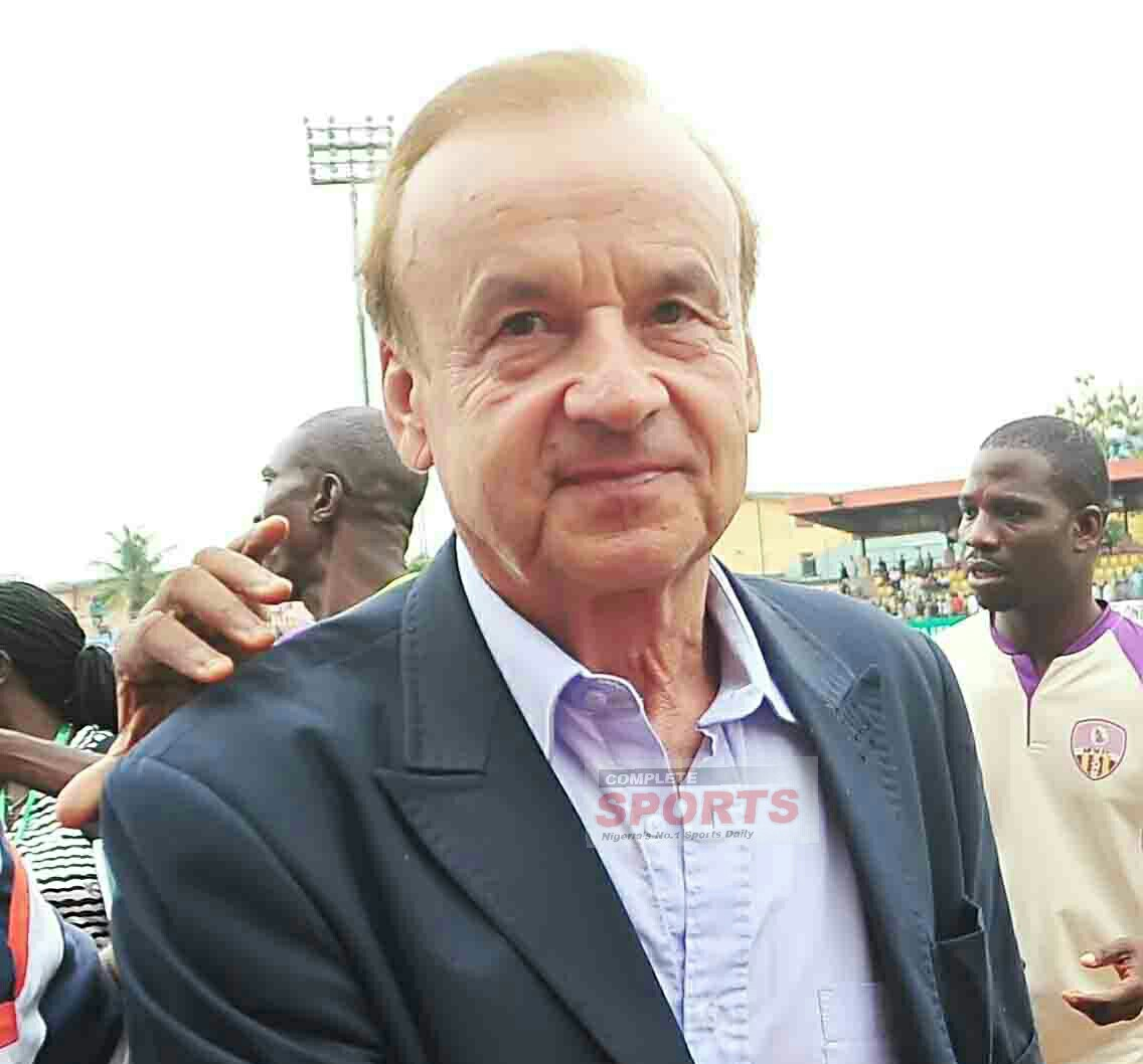 Rohr To Meet NFF Next Week Over World Cup Plans, Keeper Trainer On Break
