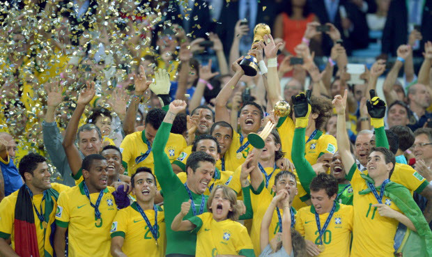 CHAMPIONS OF CHAMPIONS!: Past Winners Of FIFA Confederations Cup