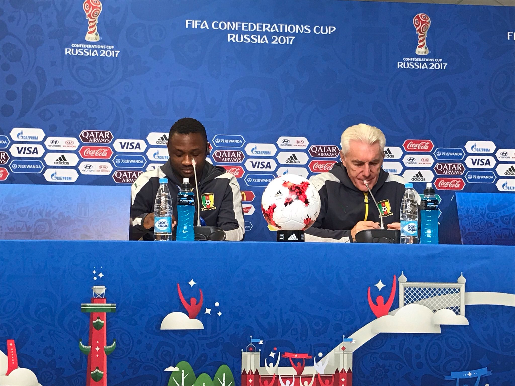 Broos Mouths Cameroon's Positive And Negative Experiences At Confederations Cup