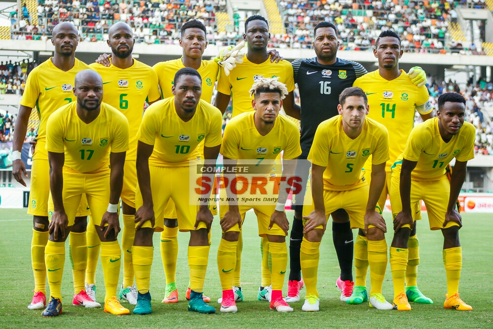 2019 AFCON Qualifiers: Bafana Face Injury Crisis Ahead Super Eagles Clash