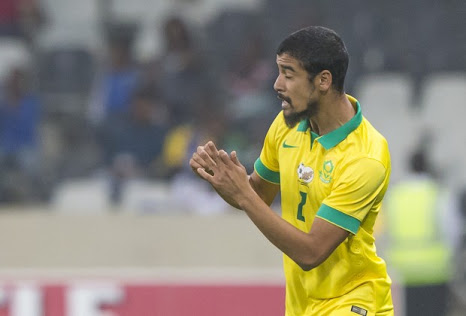 Bafana Coach Set To Play Midfielder Mobara In Defence Vs Super Eagles