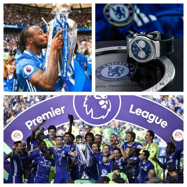 Moses, Chelsea Stars Get £9k Watches For EPL Title