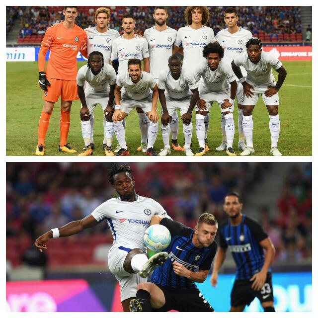Moses Impresses, Rudiger Debuts As Inter Spoil Chelsea Party