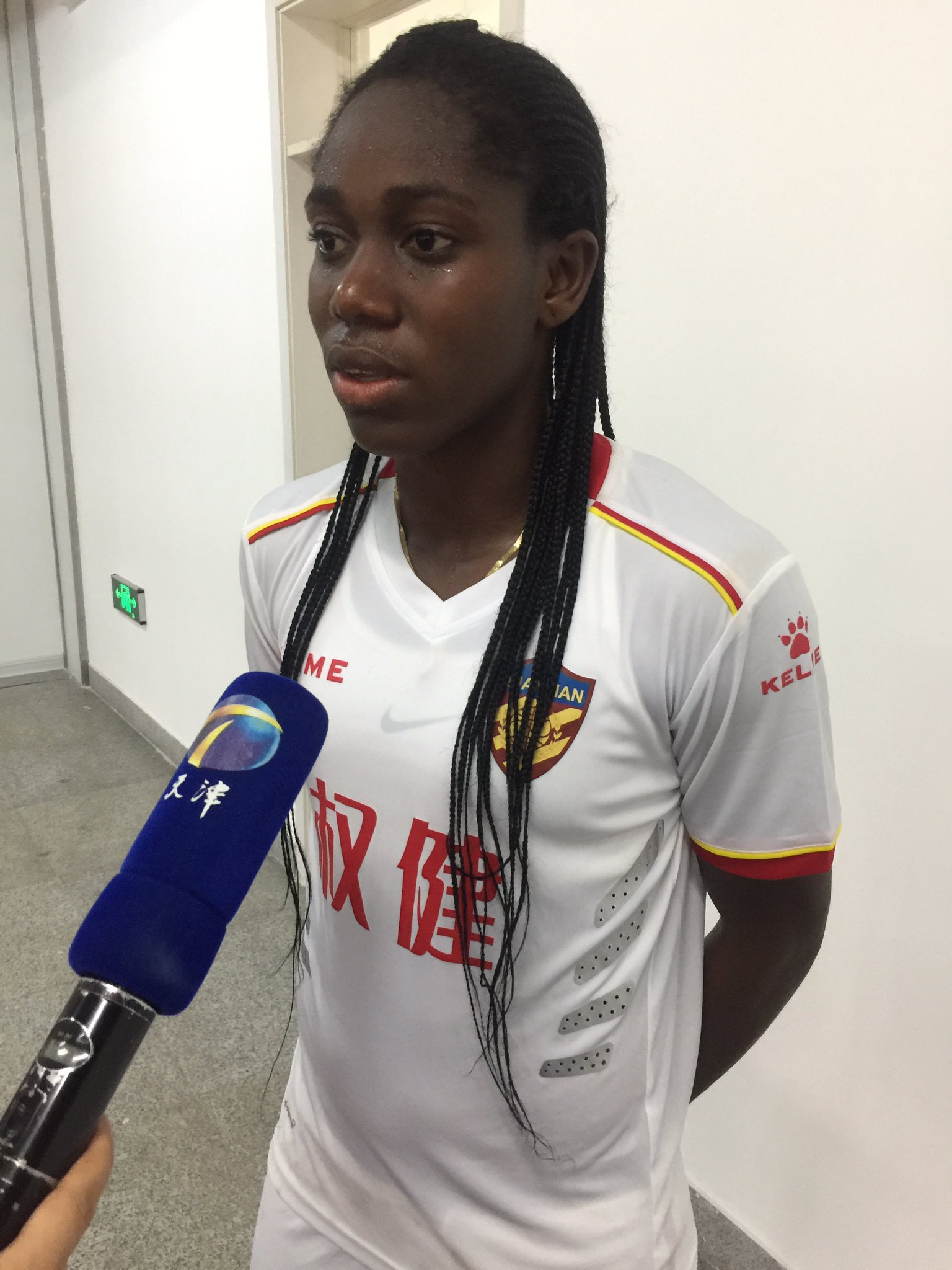 China: Red-Hot Oshoala Thankful After Hitting Brace In Dalian Win
