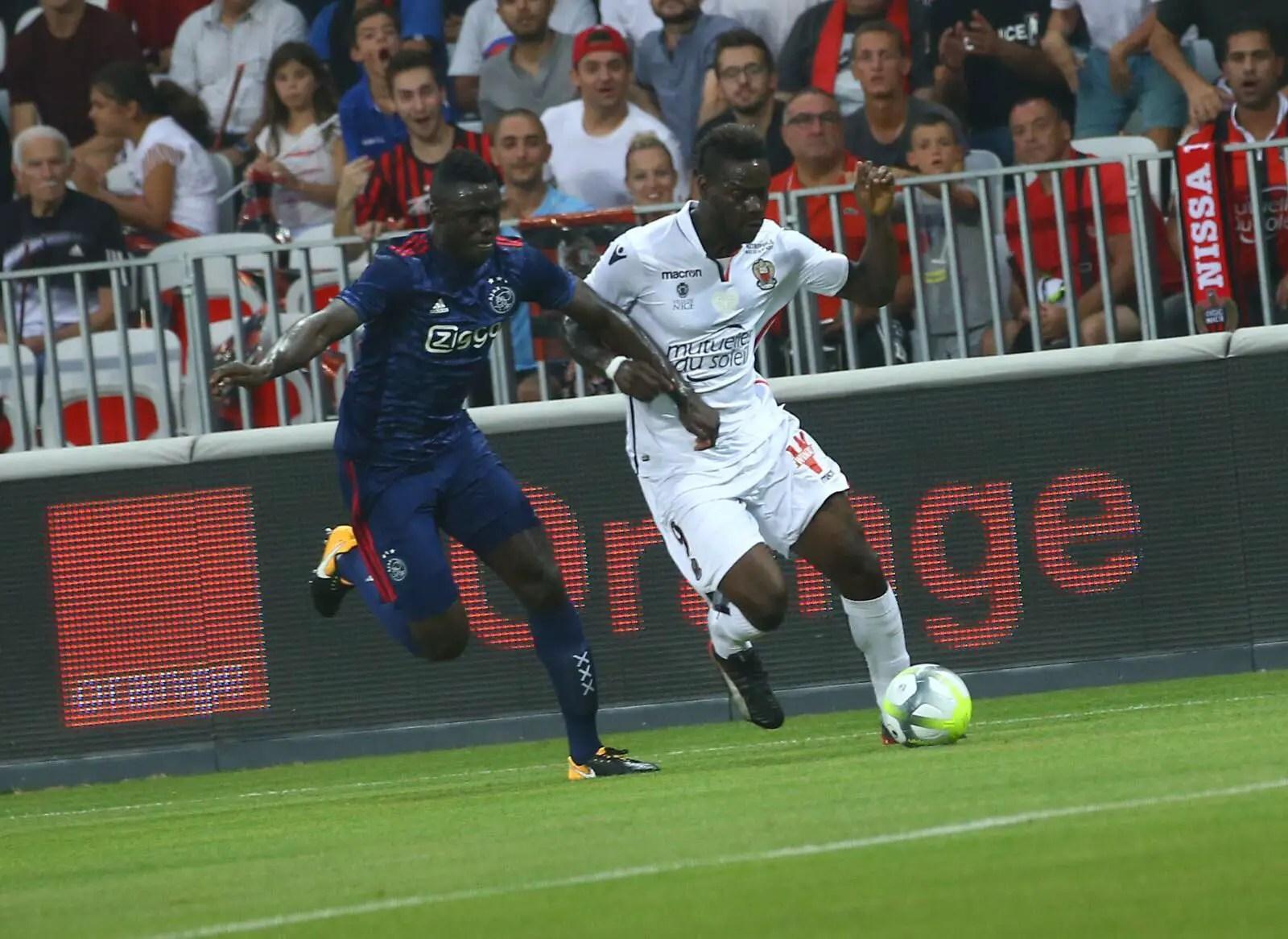 UCL: Balotelli Scores As Ajax Hold Nice; Adebayor Stars, Celtic Draw