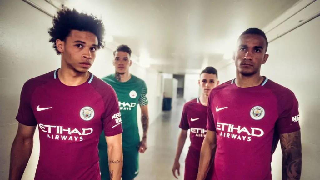 Man City Launch New 2017/2018 Away Kit Without Iheanacho