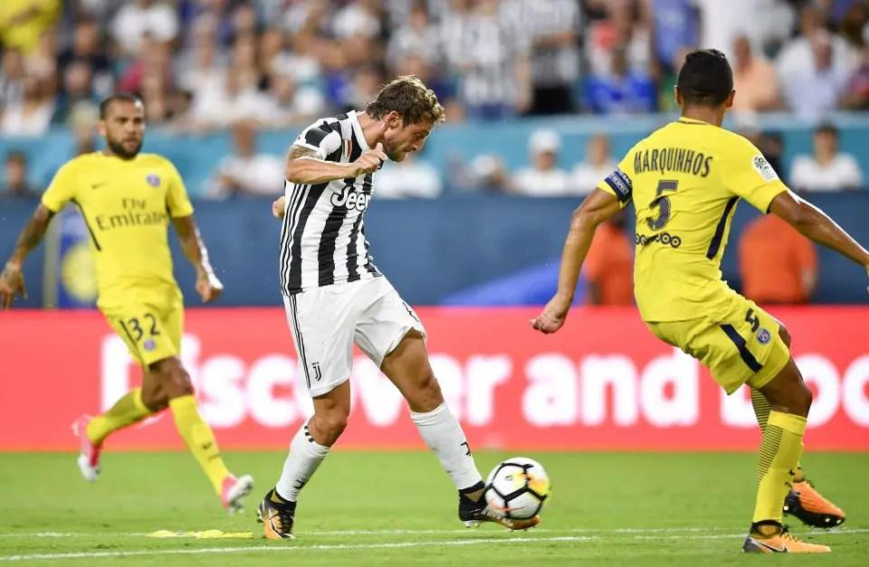 ICC:  Marchisio Shines, Nets Brace As Juventus Edge PSG