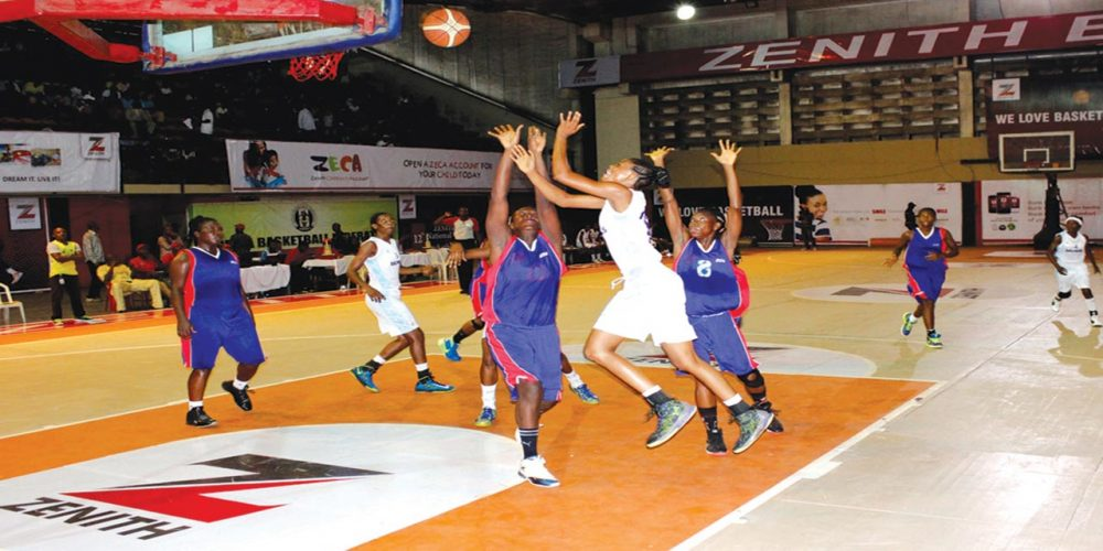 Women's Basketball League: Zenith Bank Train Stops Over In Ibadan