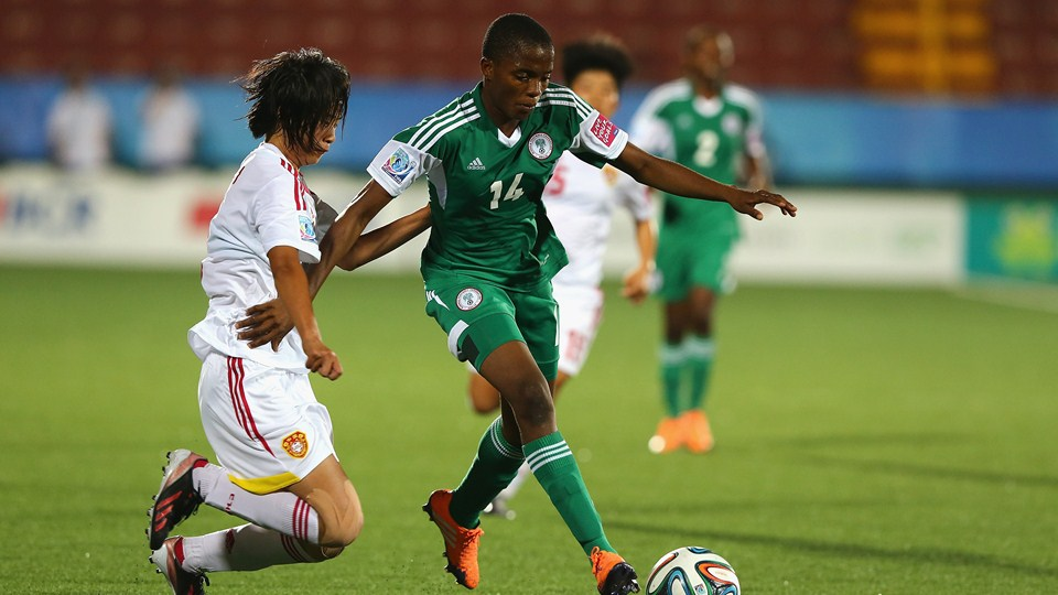 2018 U-20 Women's W/Cup Qualifiers: FIFA Names Nigeria's Ajibade As Player To Watch