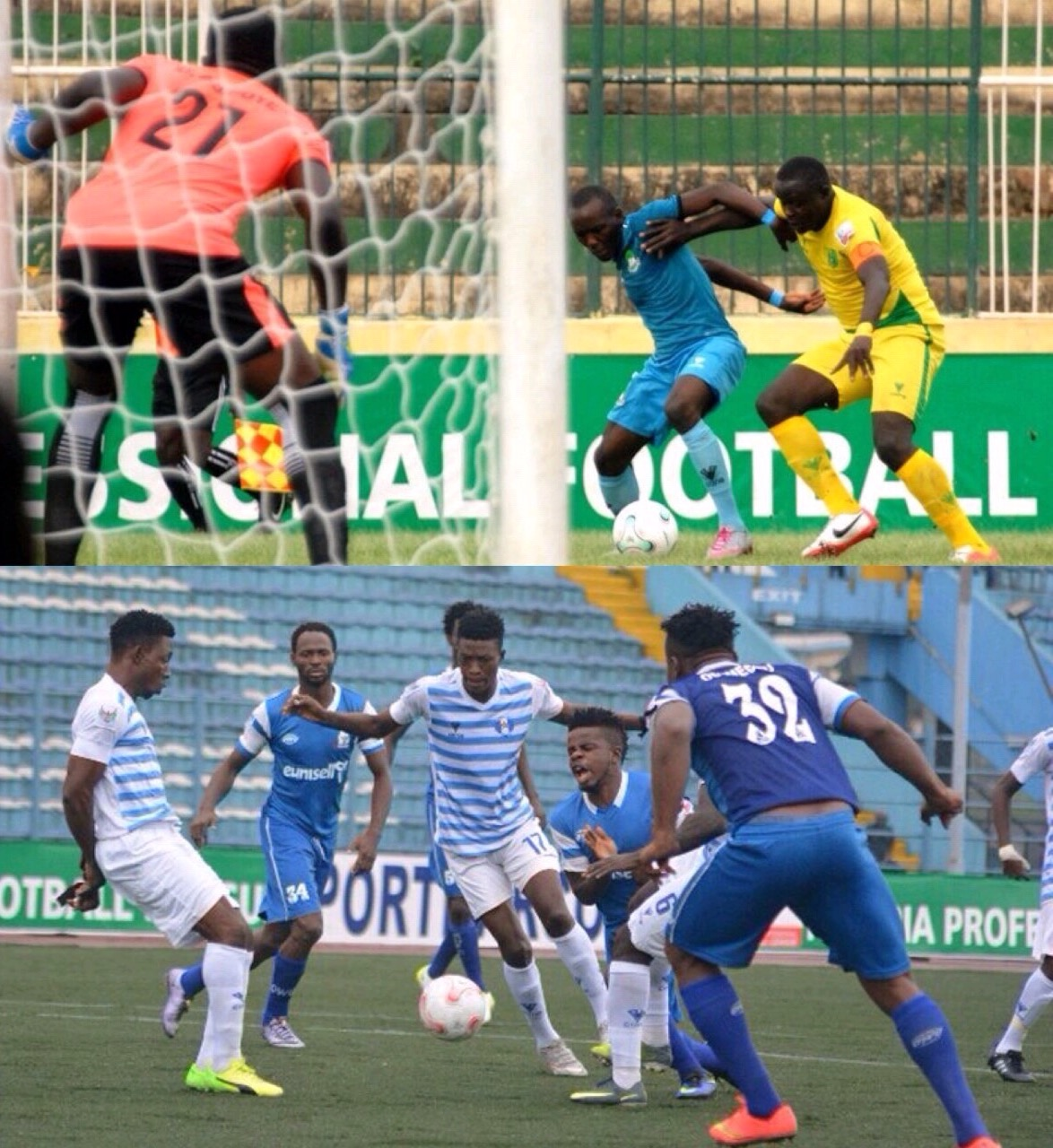 NPFL MATCHDAY-27: Plateau Face Tricky Test At El Kanemi; Akwa Host Enyimba