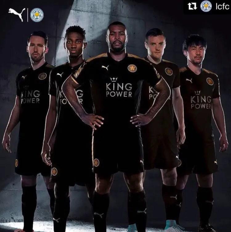 Ndidi, Vardy, Morgan Unveil Leicester's New Away Kit