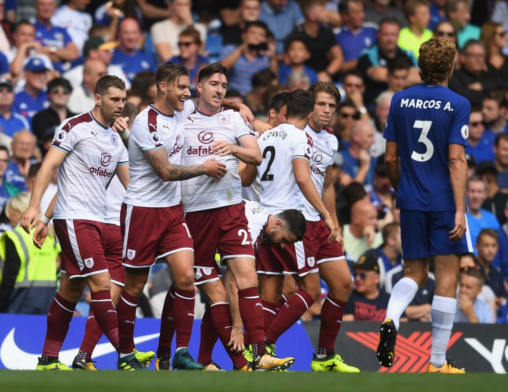 Morata Shines But Burnley Stun Chelsea, Rooney Bags Everton Winner