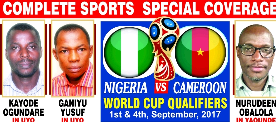 CAMEROON VS NIGERIA: Complete Sports' Special Coverage Enters Part 2!