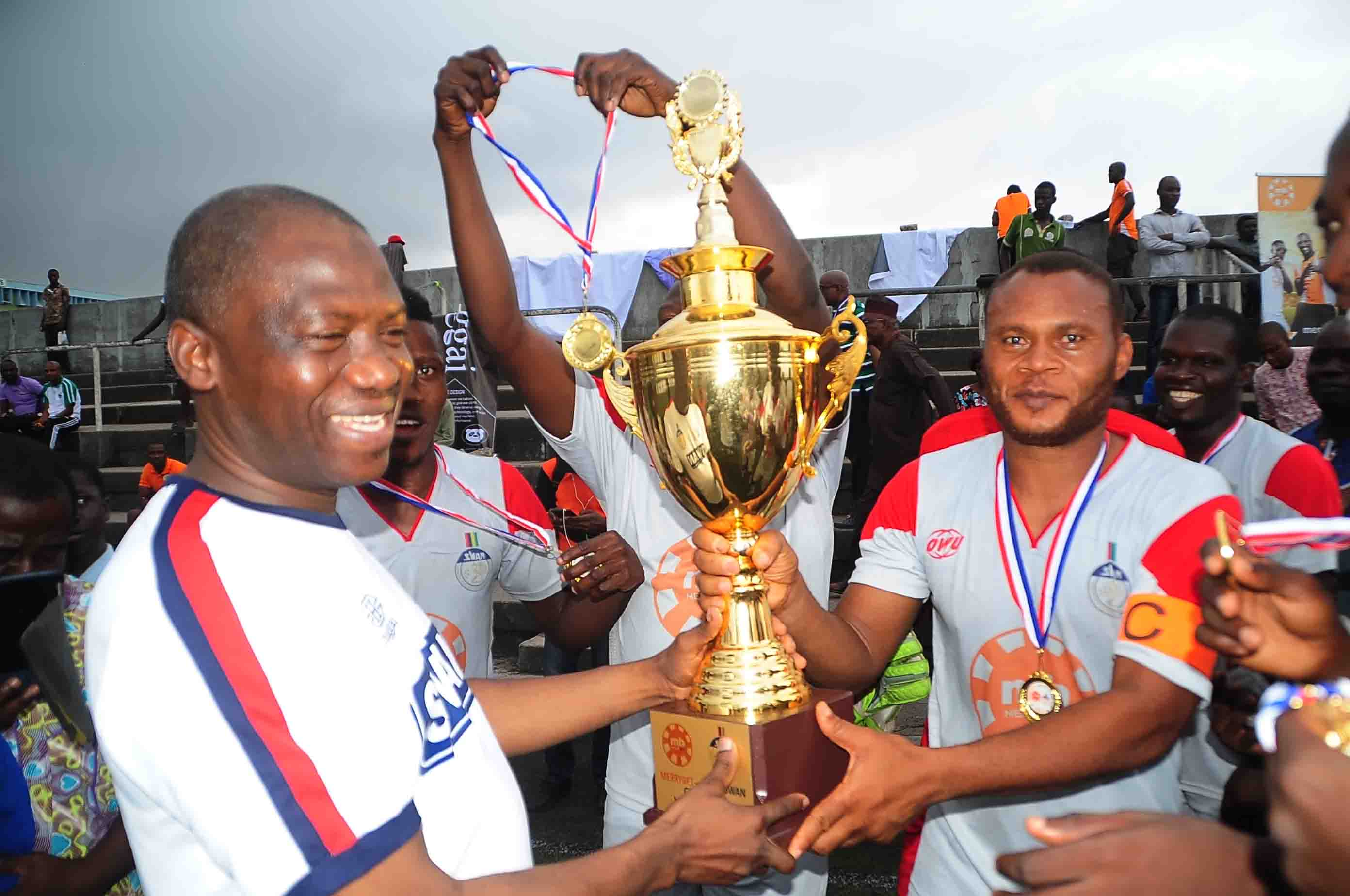 CHAMPIONS! Complete Sports Dismantle TVC To Regain MerryBet/SWAN Cup