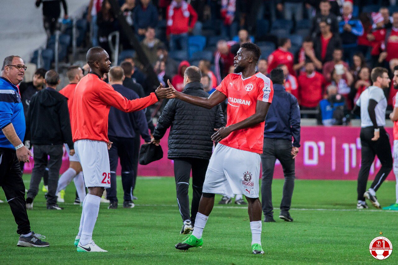 UCL: Ogu's Hapoel Reach Play-Offs, Adebayor Scores; Ajax Out, Celtic Advance