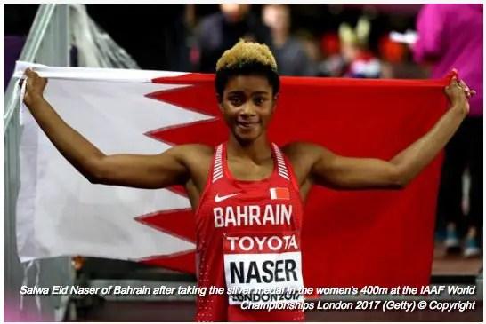 Bahrain's Nigerian-Born Worlds Silver Medallist Naser: I've No Business With AFN