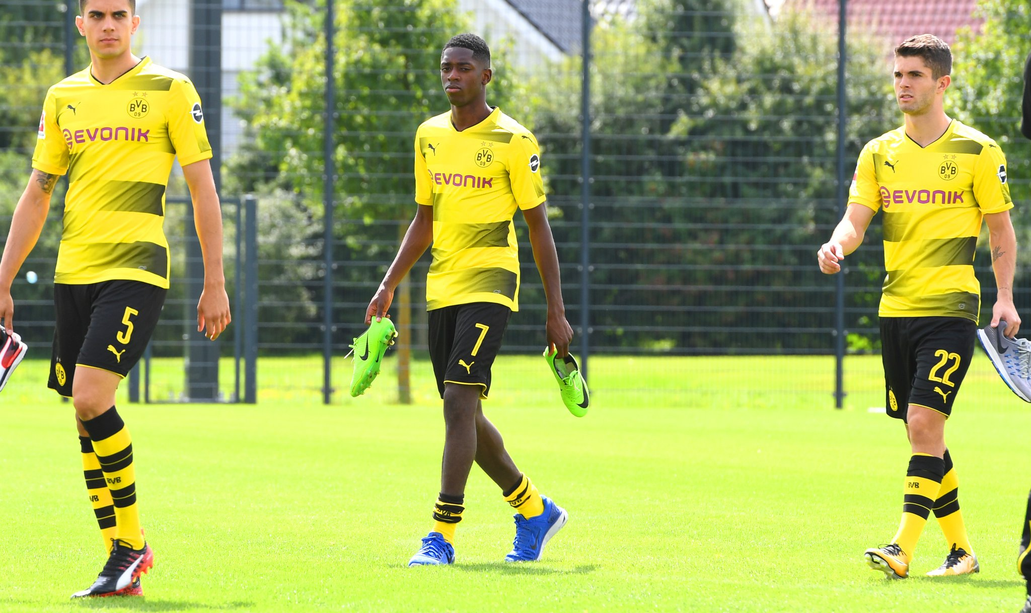 Breaking: Dortmund Suspend Want-Away Ousmane Dembele