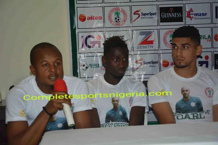 Ezenwa: I'm Mentally And Physically Ready To Stop Cameroon, Make Ikeme Proud